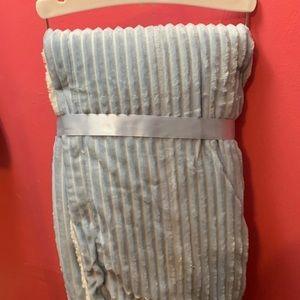 lullaby kids Bedding - Blue Blanket Set for Baby